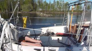 Vagabond 31  back in Ljusne Harbour 2012 may 22 part 3