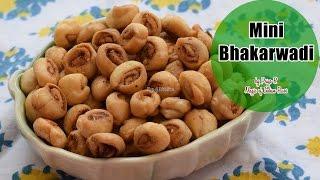 Mini Bhakarwadi - मिनी बाकरवडी - મિની ભાકરવડી - मिनी भाकरवडी - Priya R - Magic of Indian Rasoi