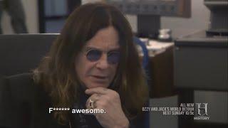 Ozzy Listening To Unheard Original Crazy Train Master Tape + Talks About Randy Rhoads 2016