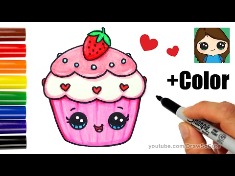 Xxx Mp4 How To Draw Color A Cupcake Easy Valentine S Sweet 3gp Sex