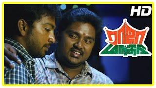 Raja Manthiri Movie Climax Scene | Kaali Venkat brings Vaishali home | Kalaiarasan marries Shalin