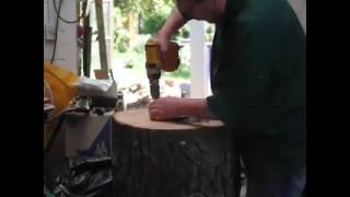 Making of a Wooden Lampshade