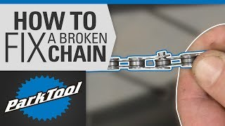 How to Fix a Broken Bicycle Chain