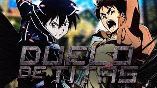 Kirito VS. Eren | Duelo de Titãs