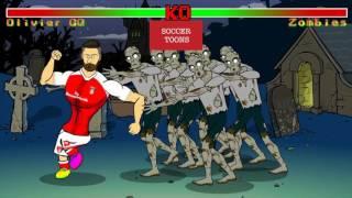 Footballers vs Zombies 2016