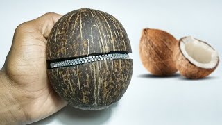 Best Reuse Idea   How to make a Coconut Jewellery Box   360 DIY