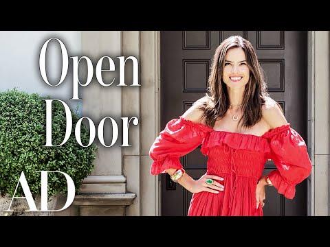 Inside Alessandra Ambrosio s Home Open Door Architectural Digest