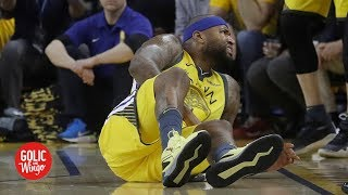 'Zero concern' for the Warriors after DeMarcus Cousins' injury – Richard Jefferson | Golic and Wingo