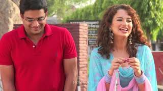 R Madhavan Kissing Kangana Ranaut   Tanu Weds Manu