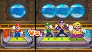 Mario Party 9 - Challenges 1 vs 3 Master Difficulty| Cartoons Mee