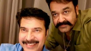 Mammootty And Mohanlal At Immanuel Location