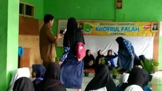 Acara rajaban mts khoerul fallah jompong 2017 bertempat di tasikmalaya