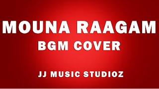 Mouna Raagam(Theme)   BGM   PIANO cover   Aparajit     JJ Music Studioz