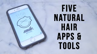 5 APPS & TOOLS FOR YOUR NATURAL HAIR | DMCMTL