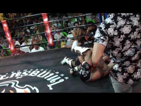 BBQ Beatdown 100 MMA Fight Jeraphat vs Jordan