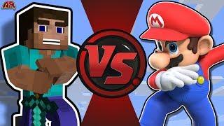 MINECRAFT STEVE vs MARIO! (Minecraft vs Super Mario) CFC Bonus Episode 22