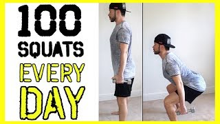 100 SQUATS EVERY DAY FOR 7 DAYS | Body Transformation Challenge: Does It Really Work?