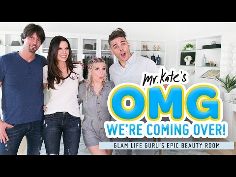 Xxx Mp4 Epic Beauty Room Makeover For Glam Life Guru Tati X Mr Kate OMG We 39 Re Coming Over 3gp Sex