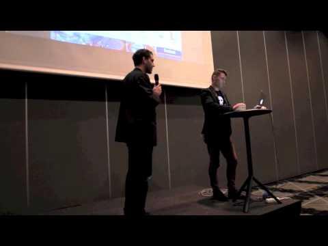 Webbdagarna Göteborg 2012 Mikael Andersson Star Republic & Linus Bille HiQ