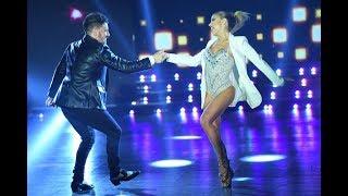 ¡Qué nivel! Fede Bal y Laurita Fernández bailaron rock en la semifinal