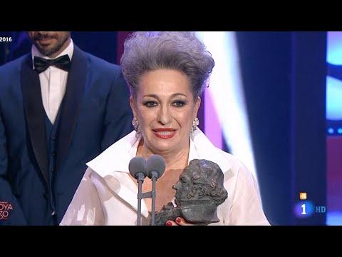 Premios GOYA 2016 : Mejor Actriz de Reparto - LUISA GAVASA - LA NOVIA