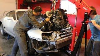 Supra Build | Part 1 | Engine out!