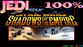 Star Wars: Shadows Of The Empire 100% JEDI Difficulty (N64)