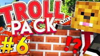 Minecraft TROLL PACK - INVISIBLE MAZE PRANK! #6