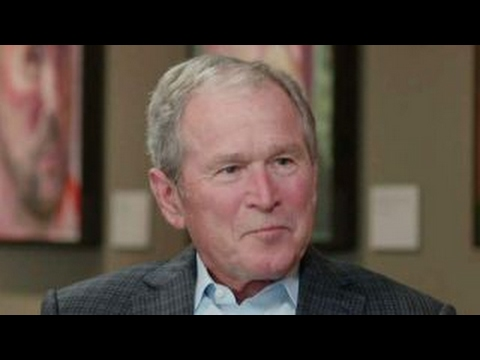 George W. Bush opens up about Portraits of Courage