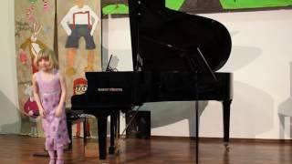 Třídní koncert 30.  3.  2017 ZUŠ Vadima Petrova
