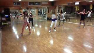 Myriam Fares in her dance rehearsals /  ميريام فارس خلال تمارين الرقص