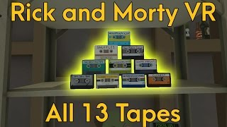 All 13 Secret Audio Tapes in Rick and Morty: Virtual Rick-ality