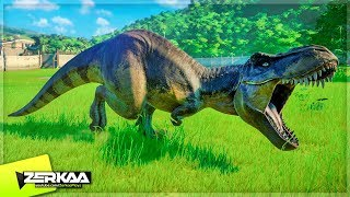 UNLOCKING THE T-REX! (Jurassic World Evolution #10)