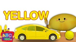 Color Song | Yellow  - ABCkidTV