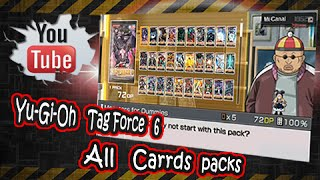 Yu-gi-oh! 5D's Tag Force 6 All cards packs y descarga de savedata