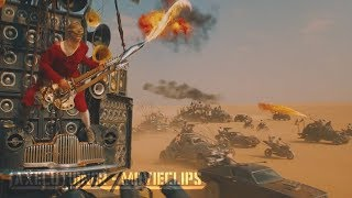 Mad Max: Fury Road |2015| All Battle Scenes [Edited]
