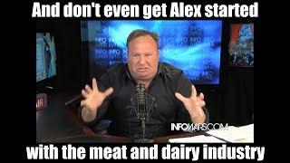 Alex Jones is a Vegan YouTuber