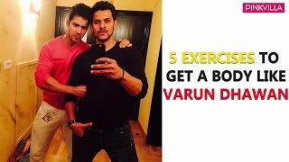 How to get a body like Varun Dhawan | Fitness Tips | Gym Tips for Beginners | S01E06