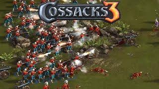 Cossacks 3 -  Game dàn trận dánh nhau với Sữa/Blue/Ares/Phi