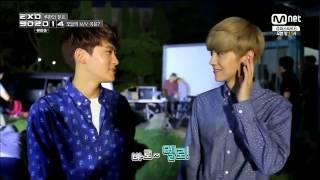 [LIVE_HD] 141010 EXO Luhan SM Rookies Yuta MV BTS @ Cut 1 EXO 902014