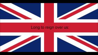 National Anthem of the United Kingdom - God Save The Queen - Lyrics