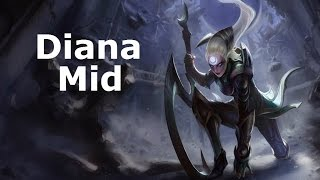 [S5/D1] Diana Mid, Full Game Commentary!