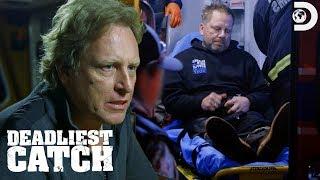 Norman Hansen's Scary Injury | Deadliest Catch