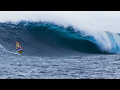 Windsurfing Tasmania's Deadliest Wave