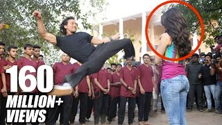 Tiger Shroff's Amazing Stunt With Shraddha Kapoor For Baaghi