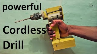 Powerful Cordless Drill Make at home (Et Discover)