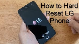 How to Hard Reset LG Mobile Tracfone - Free & Easy