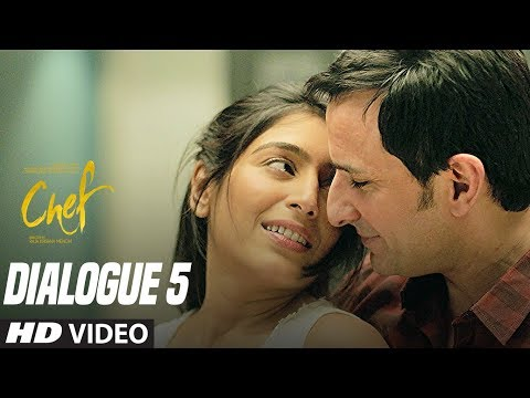 Nothing Is Personal Now A Days:  Chef (Dialogue Promo 5)   Saif Ali Khan   Padmapriya