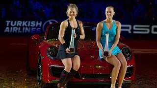 2017 Porsche Tennis Grand Prix Final | Laura Siegemund vs Kristina Mladenovic | WTA Highlights