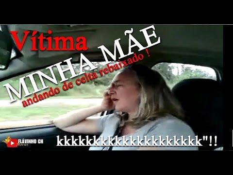 MINHA MÃE ANDANDO NO MEU CELTA REBAIXADO KKKKKK Flávinho Ch
